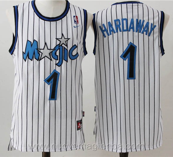 maglie basket nba retro bianco Penny Hardaway Orlando Magic