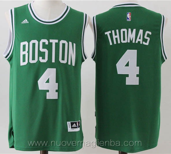 maglie basket nba verde Isaiah Thomas Boston Celtics