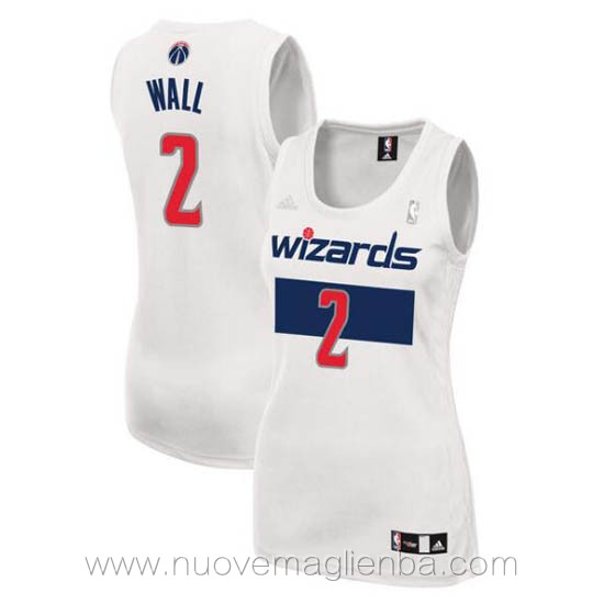 Canotta basket donna bianco John Wall Washington Wizards