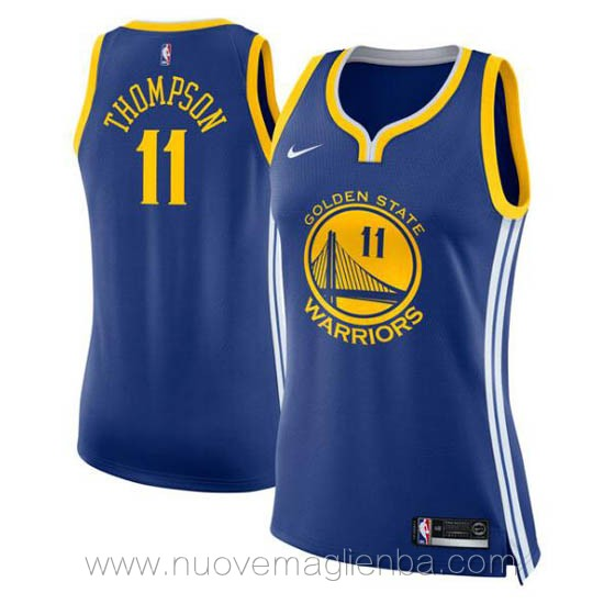 nuove canotta basket donna bianco Klay Thompson Golden State Warriors