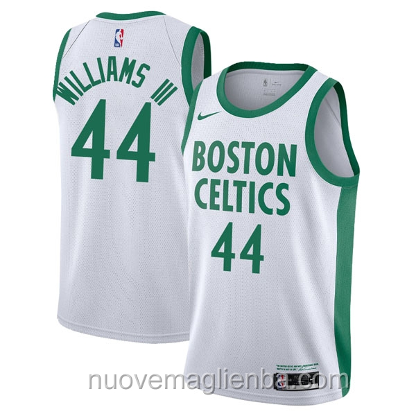 nuove maglie NBA per nike bianco Boston Celtics Robert Williams III