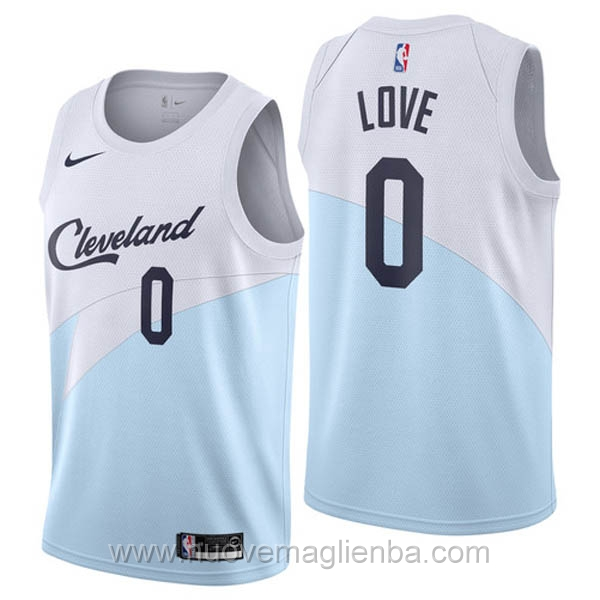 nuove maglie NBA per nike bianco Cleveland Cavaliers Earned Edition-Kevin Love