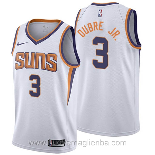 nuove maglie NBA per nike bianco Phoenix Suns Kelly Oubre Jr