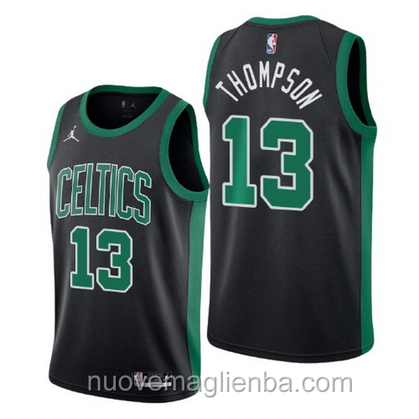 nuove maglie NBA per nike nero Boston Celtics Tristan Thompson Statement