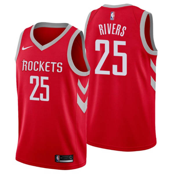 nuove maglie NBA per nike rosso Houston Rockets Austin Rivers