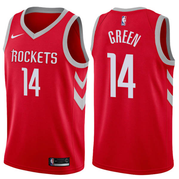 nuove maglie NBA per nike rosso Houston Rockets Gerald Green