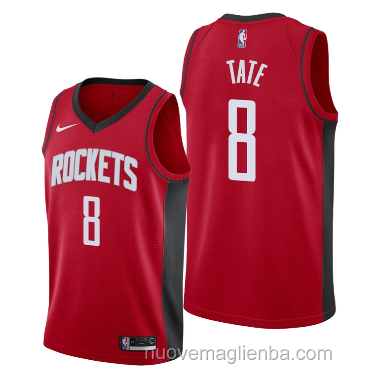 nuove maglie NBA per nike rosso Houston Rockets Jae'Sean Tate Icon 2021