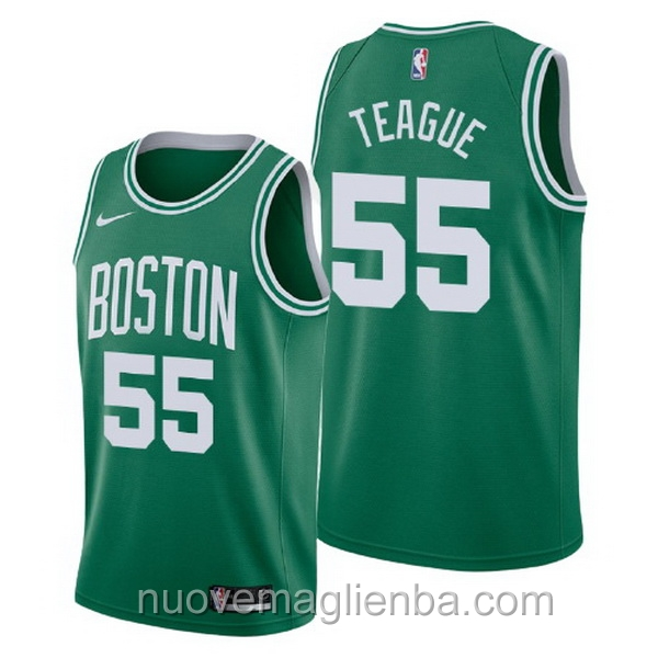 nuove maglie NBA per nike verde Boston Celtics Jeff Teague Icon