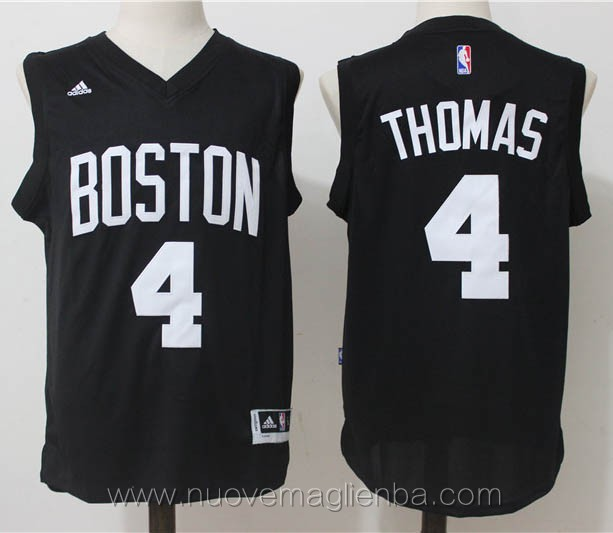 nuove maglie basket nba nero Isaiah Thomas Boston Celtics