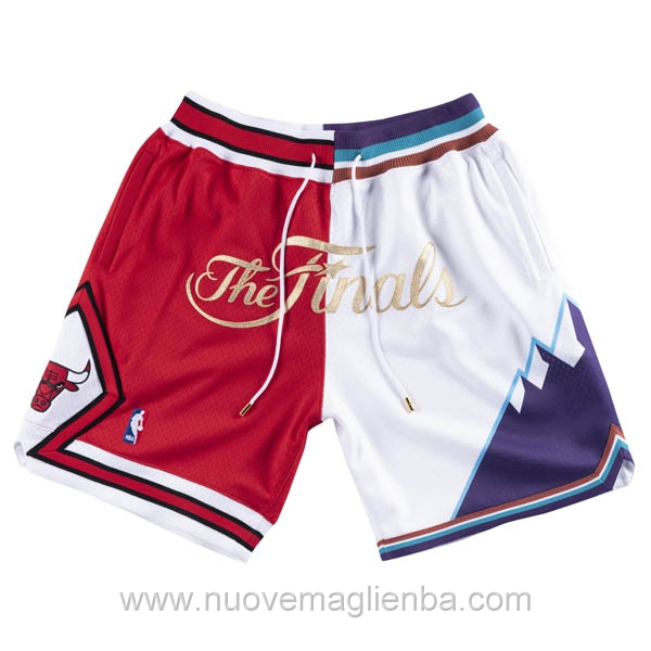 pantaloncini nba giuntura poco prezzo Chicago Bulls Vs Utah Jazz Just Don 1997