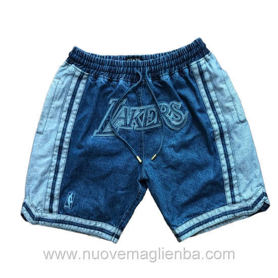 pantaloncini nba poco prezzo Cowboy Los Angeles Lakers